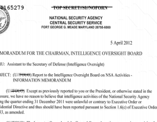 NSA Posted Large Amount of IOB Reports on Christmas Eve