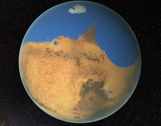 NASA Says Mars Had More Water than Arctic Ocean