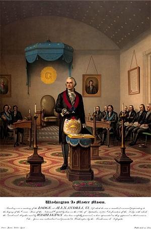 washington freemason