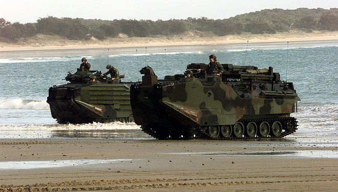 Navy's Amphibious Assault Vehicle May Become Corrosion and Bullet Proof