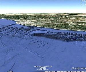 google earth malibu anomaly
