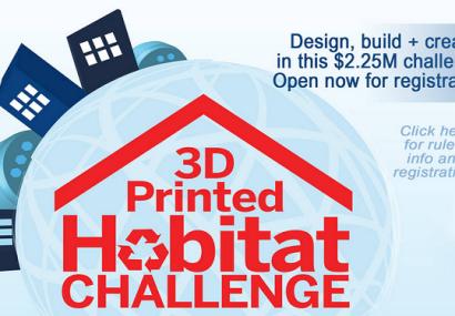 NASA Offers $2 Million Prize for 3D Printed Mars Space Habitat Design