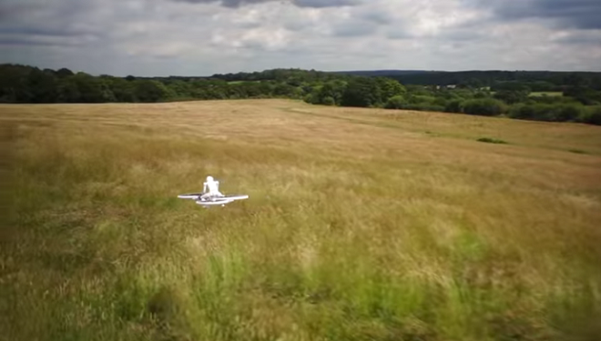 Humans on Drones: US Troops May Soon Be Riding These Hoverbikes