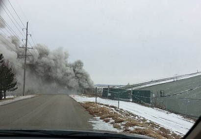 Uncontrolled Missouri Landfill Fire Burns 1000 Feet from Nuclear Waste Dump