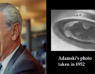 CIA Memo Shows UFO Contactee Adamski Lied About CIA Visitors