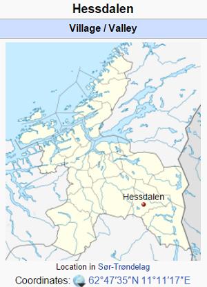 hessdalen map