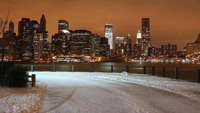 NYC Police Provide a Glimpse of Martial Law During Blizzard