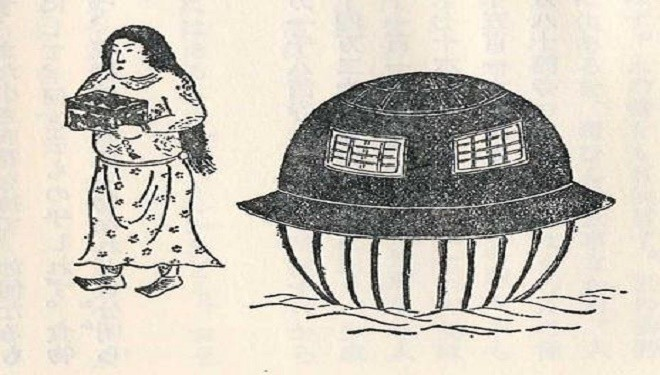 Utsuro-Bune: The Strange Japanese UFO From 1803
