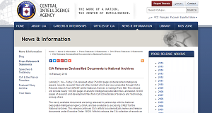 cia releases documents