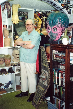 forrest ackerman with props