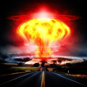 nuclear weapon artist rendering