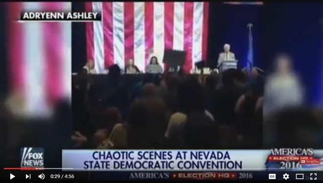 Nevada Democratic Convention Requires Police Presence Due to Angry Crowds