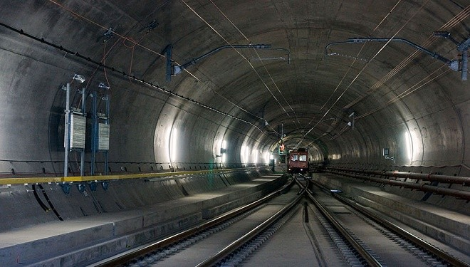 Why the Apocalyptic and Satanic Imagery for Swiss Tunnel Ceremony?