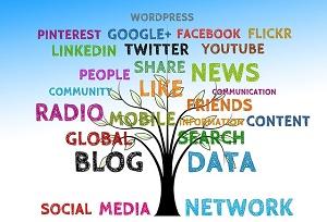 various media
