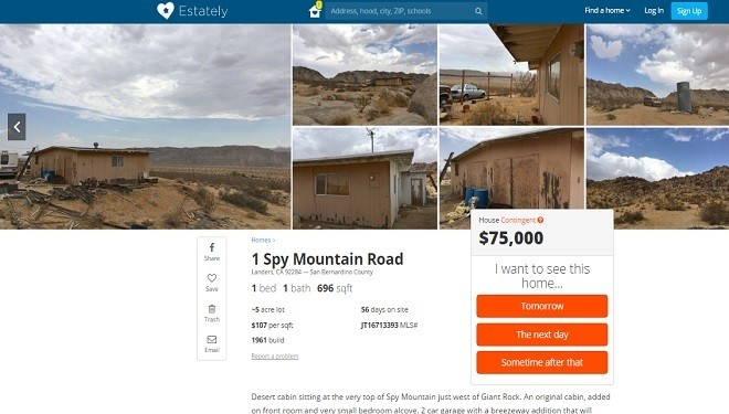 Desert Realtors Use UFO History to Sell Land