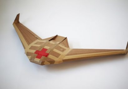 This DARPA Cardboard Drone Is for Fast One-Way Deliveries