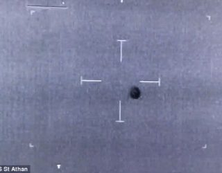British Police Helicopter Captures UFO on Film