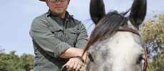 Man Rides on Horse Across America for Agent Orange Victims