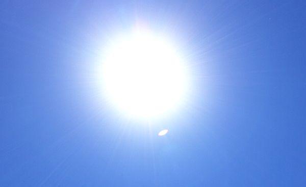 eclipse ufo sighting