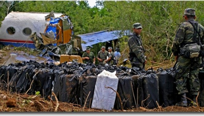 The CIA Cocaine-Filled Plane That Crashed in Mexico