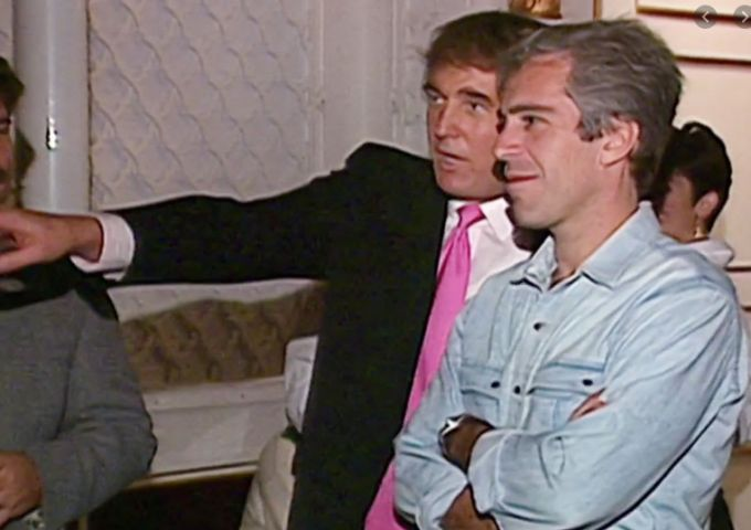 image of trump and epstein